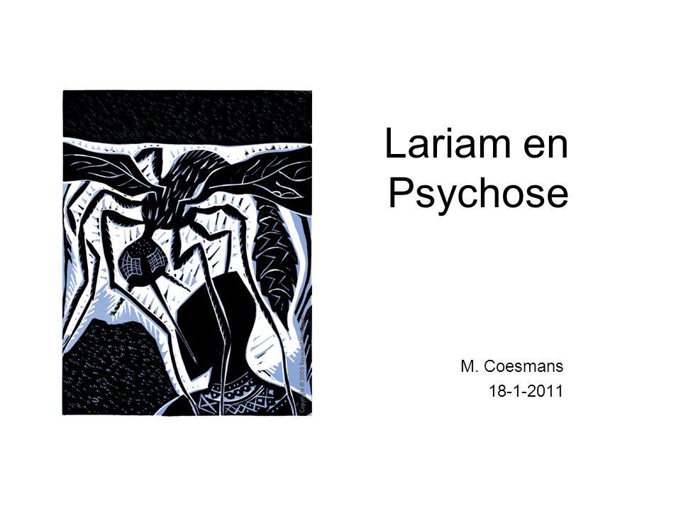 Lariam en Psychose M. Coesmans 18-1-2011