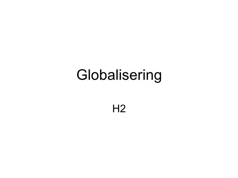 Globalisering H2