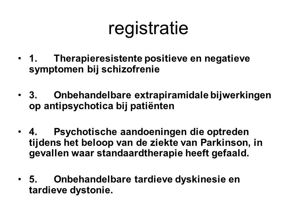 Richtlijn convulsies bij clozapine gebruik Eerste insult: -Halvering van de dosis clozapine en spiegelbepaling.