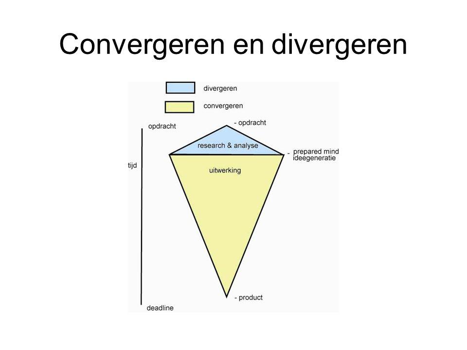 Convergent en divergent denken D:\presentaties\divergentie convergentie eenvoudig.pptD:\presentaties\divergentie convergentie eenvoudig.ppt