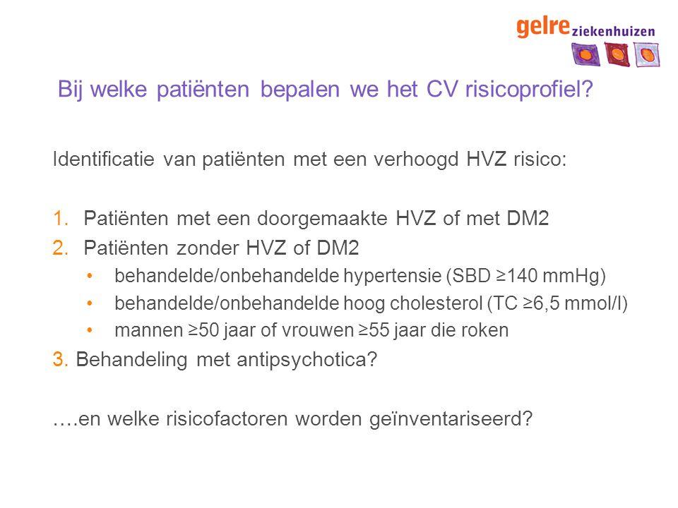 Vraag 2 Waarom TC/HDL-ratio als parameter voor het schatten van het risico op HVZ.