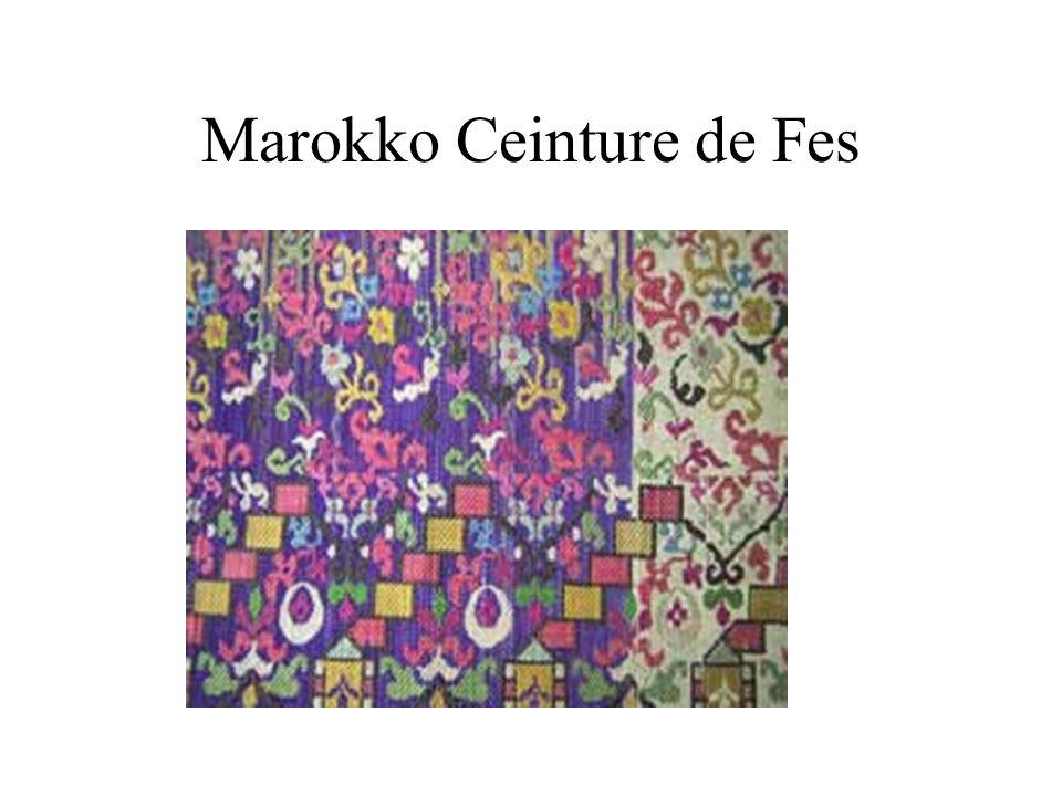 Marokko Ceinture de Fes
