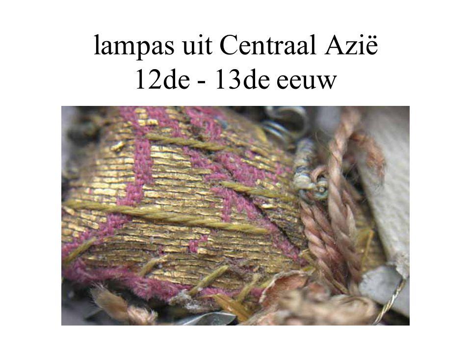 lampas uit Centraal Azië 12de - 13de eeuw
