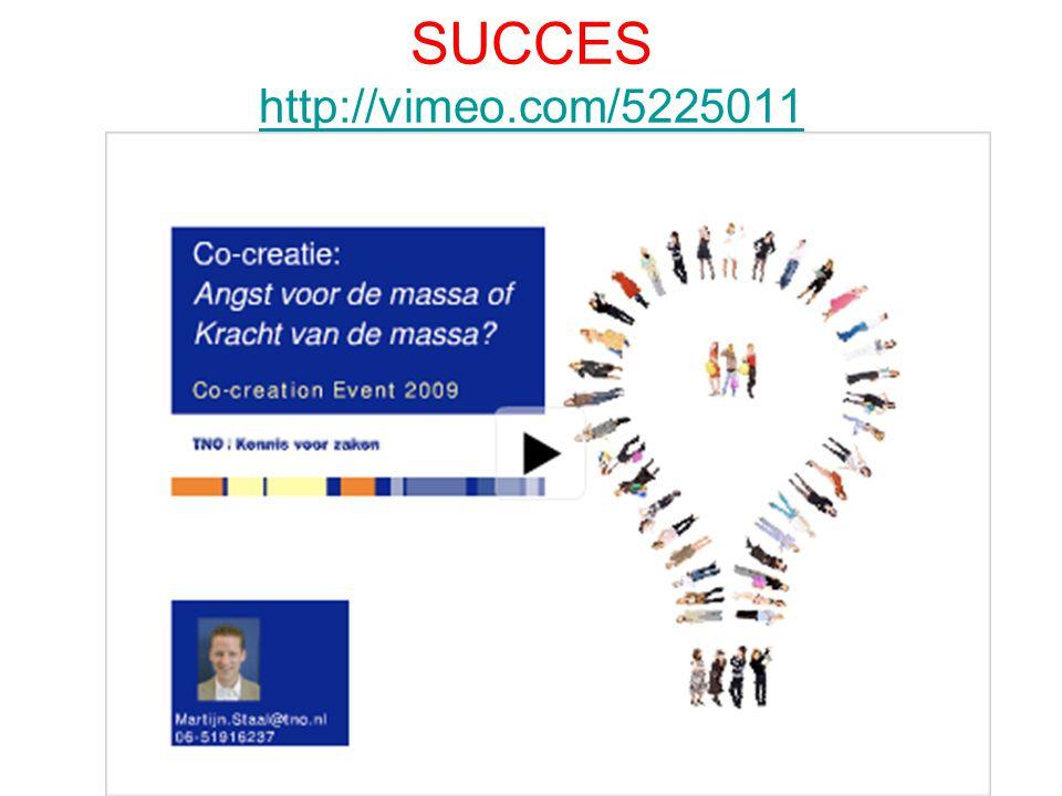 SUCCES http://vimeo.com/5225011 http://vimeo.com/5225011