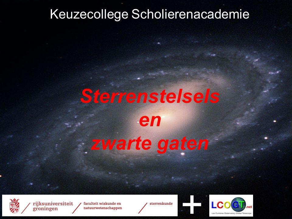 Keuzecollege Scholierenacademie Sterrenstelsels en zwarte gaten +