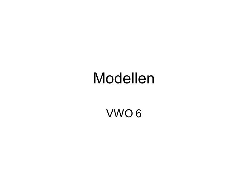Modellen VWO 6