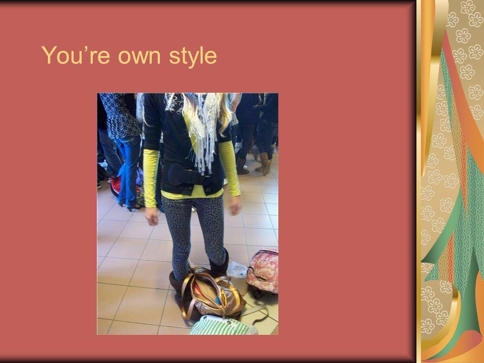Inhoudsopgave Inleiding T-shirt Spijkerbroeken Schoenen Make-up Tassen Haarstyle