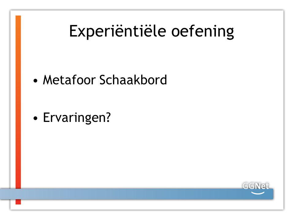 Experiëntiële oefening Metafoor Schaakbord Ervaringen?