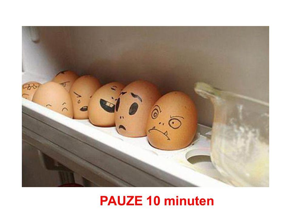 PAUZE 10 minuten