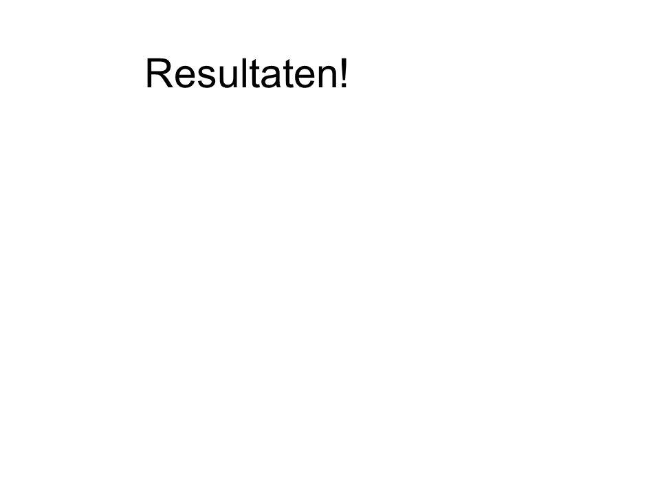Resultaten!