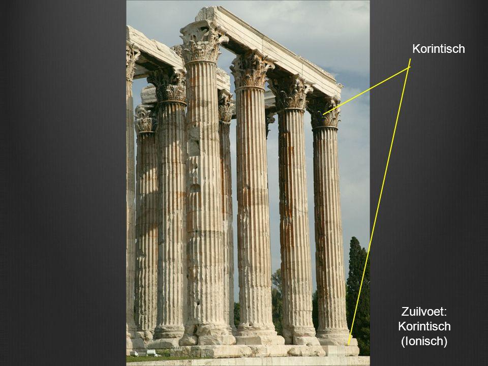Korintisch Zuilvoet: Korintisch (Ionisch)