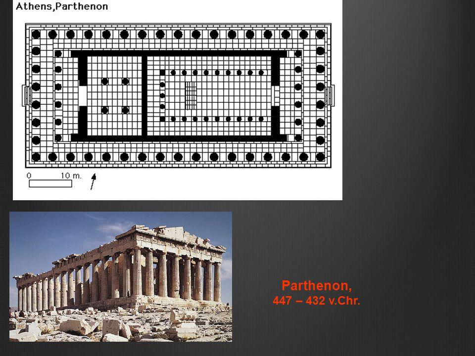 Parthenon, 447 – 432 v.Chr.