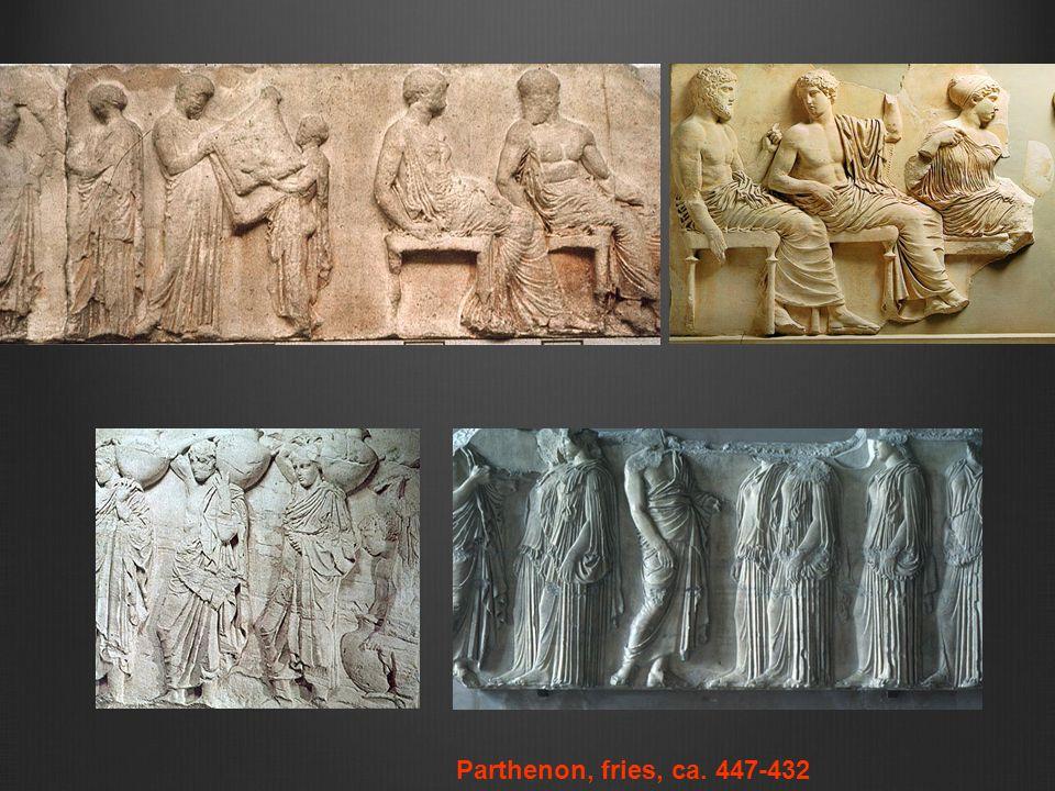Parthenon, fries, ca. 447-432