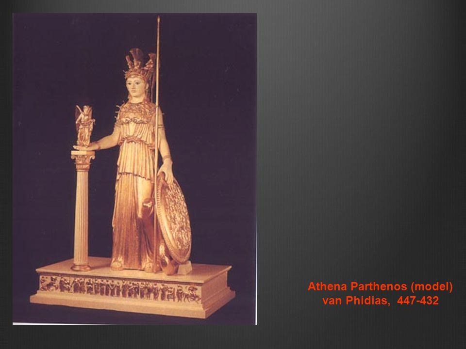 Athena Parthenos (model) van Phidias, 447-432