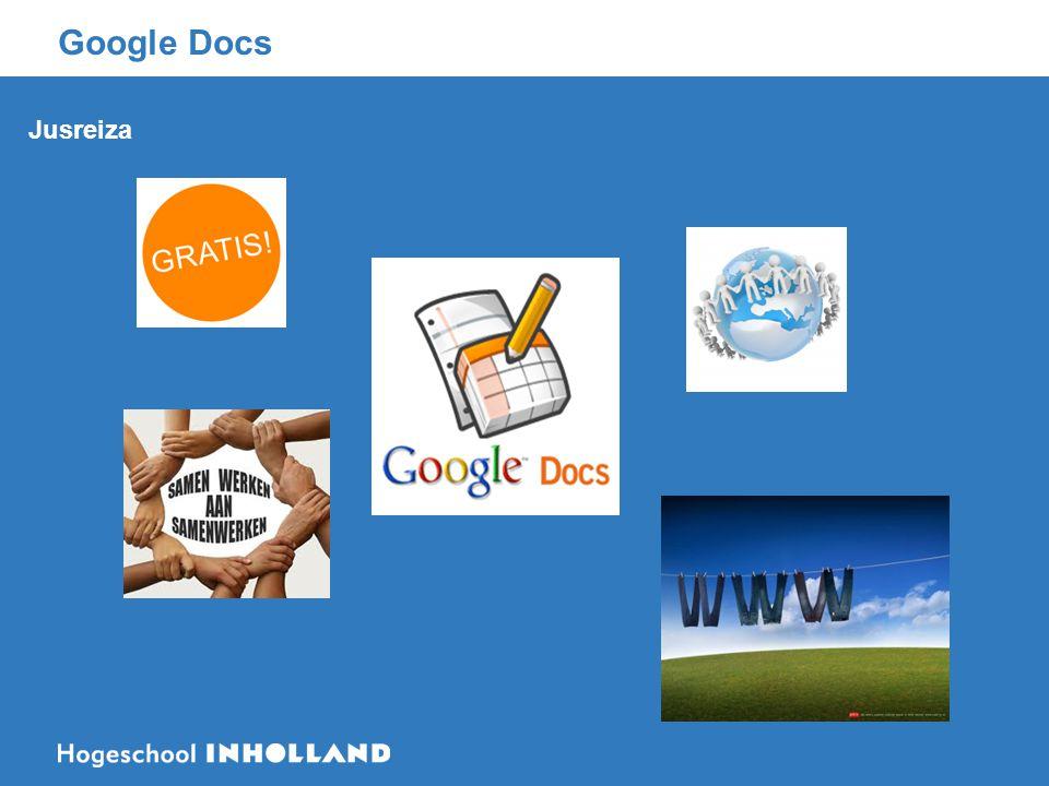 Google Docs Jusreiza