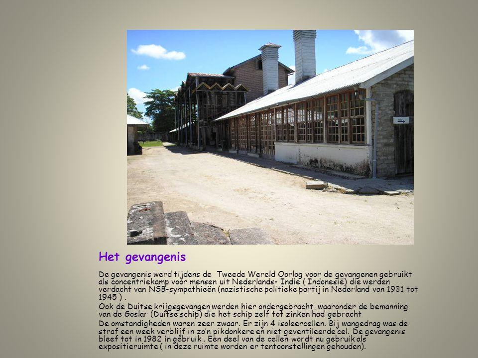 Het gevangenis De gevangenis werd tijdens de Tweede Wereld Oorlog voor de gevangenen gebruikt als concentriekamp voor mensen uit Nederlands- Indie ( I