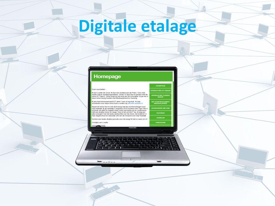 Digitale etalage