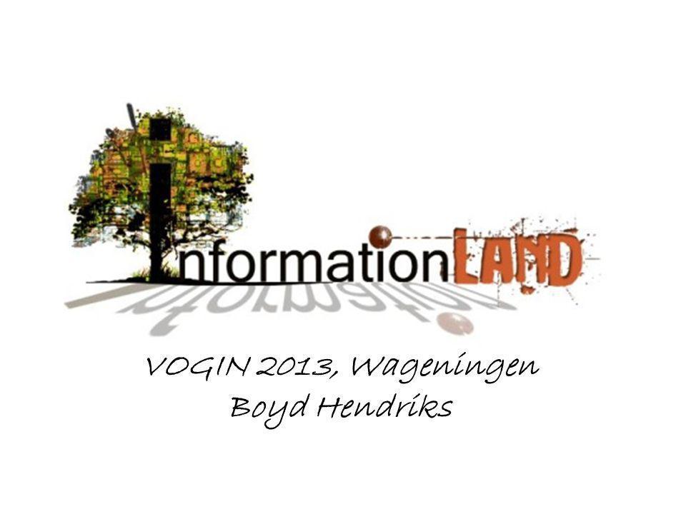 VOGIN 2013, Wageningen Boyd Hendriks