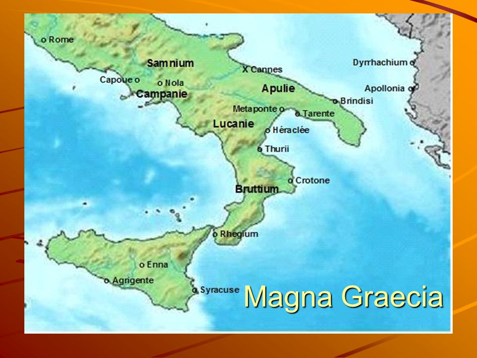 Magna Graecia Magna Graecia