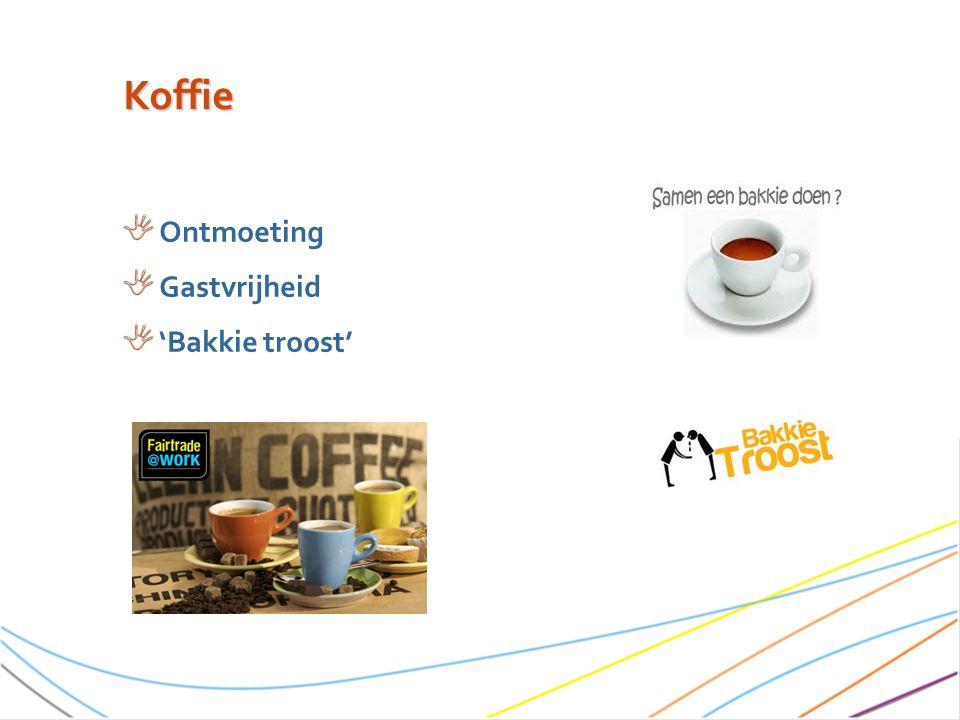 Koffie Ontmoeting Gastvrijheid 'Bakkie troost'