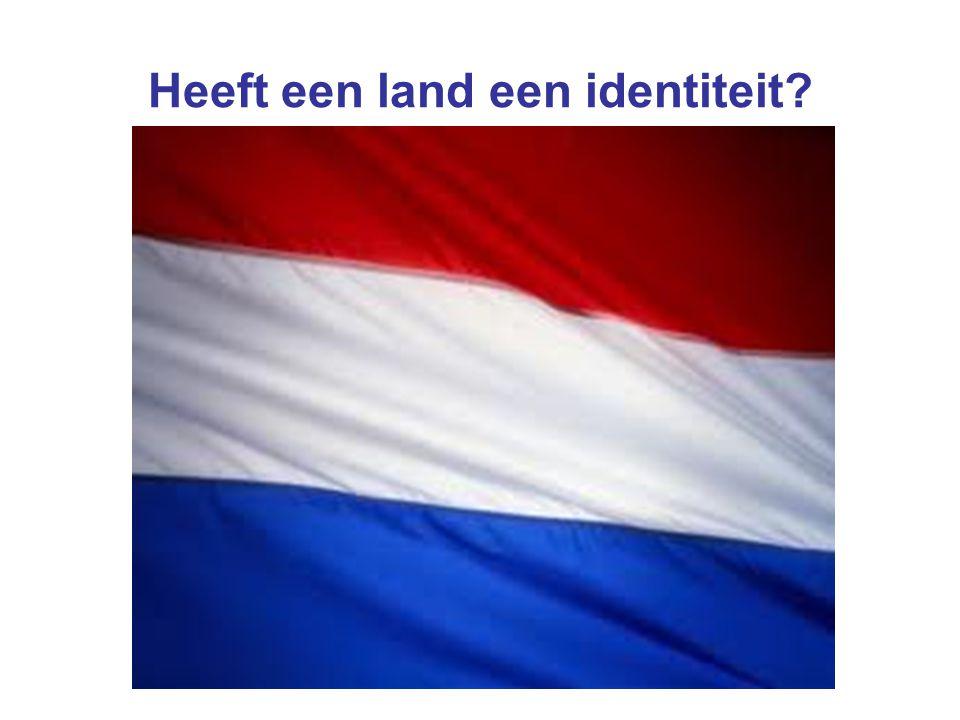 Heeft een land een identiteit?