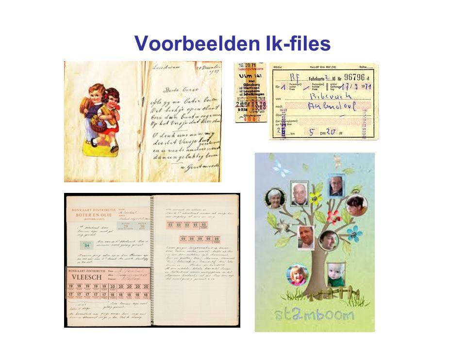 Voorbeelden Ik-files