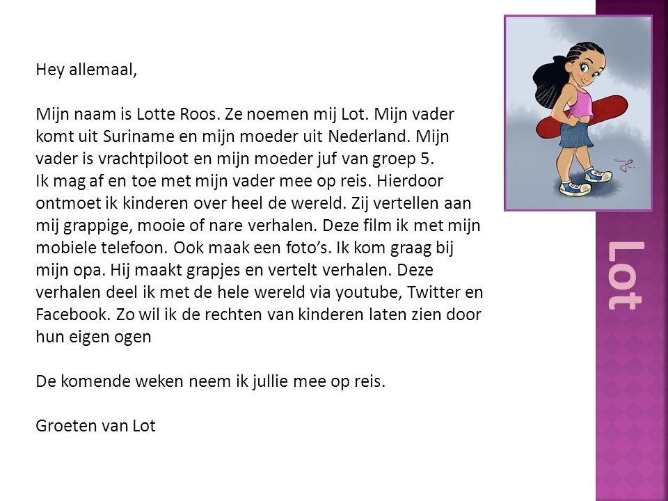 Hey allemaal, Mijn naam is Lotte Roos.Ze noemen mij Lot.