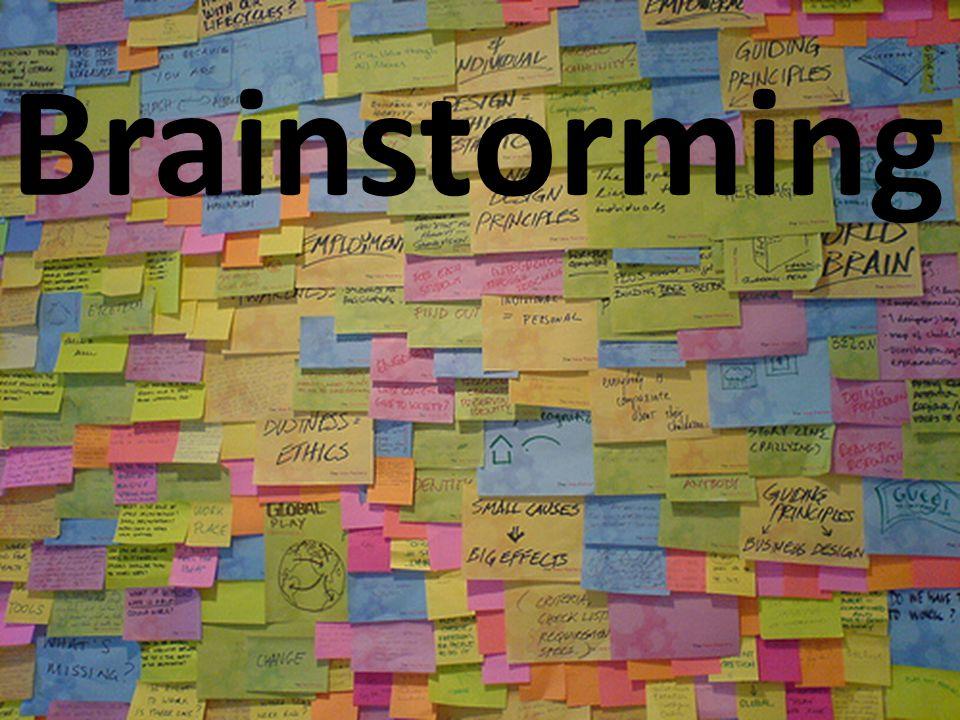 In de loop der jaren is brainstorming zo populair dat het begrip wat inflatie heeft opgelopen.