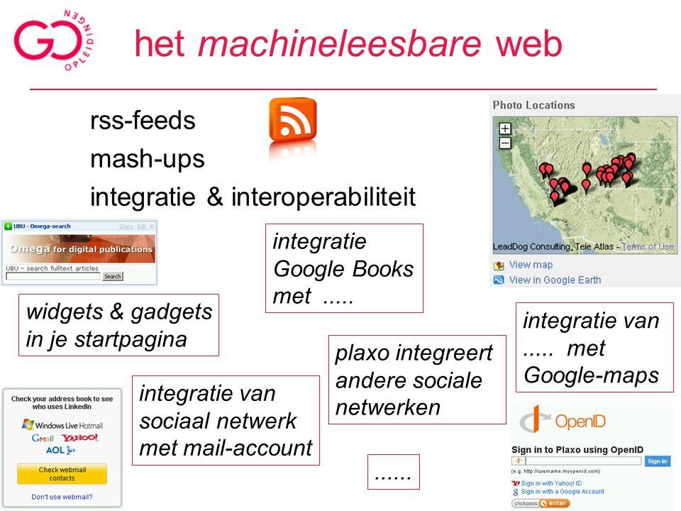 het communicatieve web bloggen (tekst, podcast,....) twitteren chatten (tekst, geluid, beeld) commentaar achterlaten discussies voeren