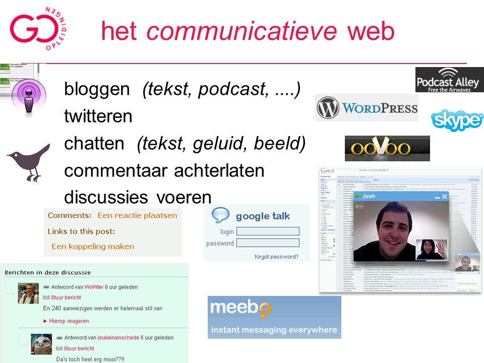 taggen en promoten in alle soorten applicaties –blogposts –bookmarks –nieuwsberichten –foto's & video's –websites (bijv.