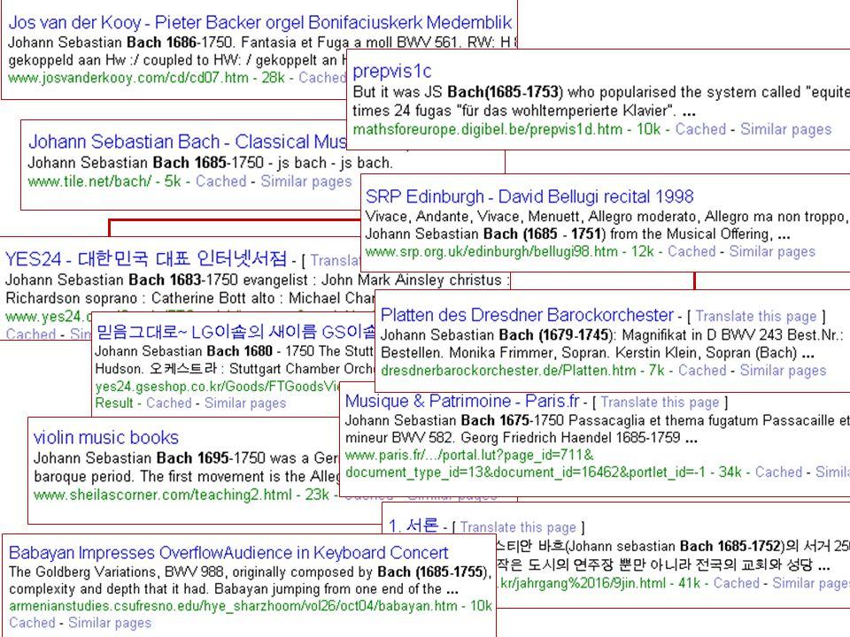 wanneer leefde Johann Sebastian Bach? just ask Google!