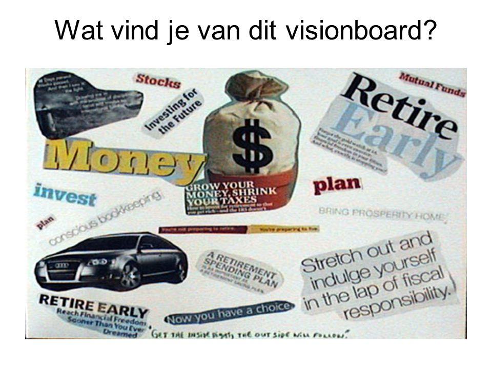 Wat vind je van dit visionboard