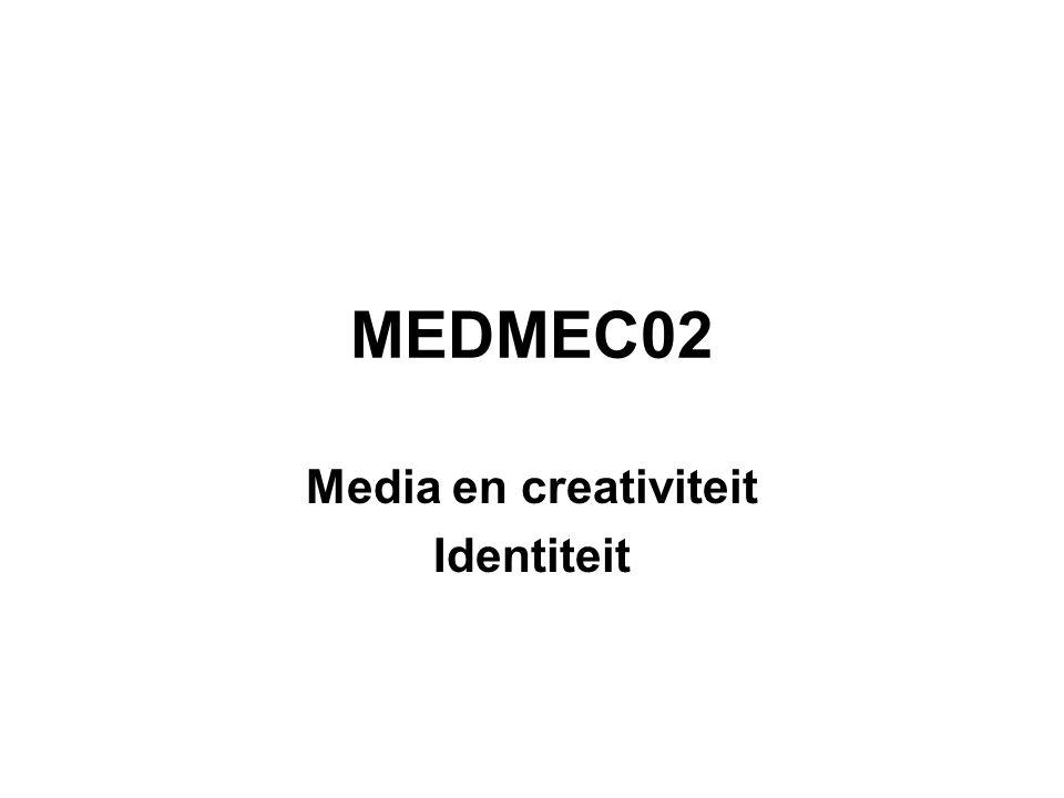 MEDMEC02 Media en creativiteit Identiteit
