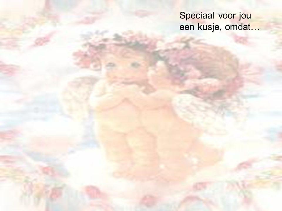 Ik zou voor je zingen, omdat je speciaal bent…
