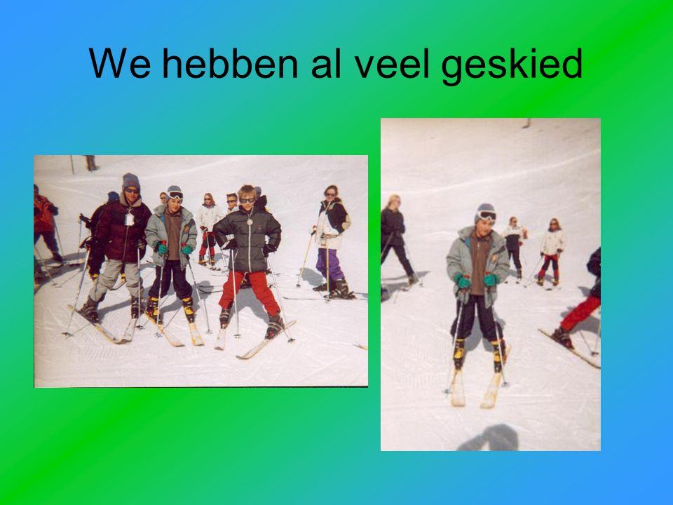 Reini, onze skimonitor … en ik