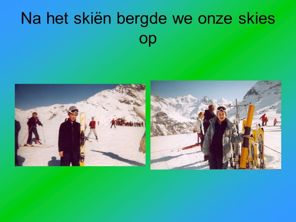 We hebben al veel geskied