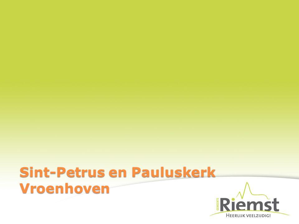 Sint-Petrus en Pauluskerk Vroenhoven