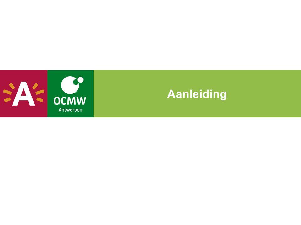  Archivering in de sociale centra  Bestuursakkoord: digitaal werken bij OCMW en stad  1SSB040202 Digitaal werken vereenvoudigt de werkprocessen en verbetert de diensten aan de burger  1SSB040103 De Antwerpenaar heeft maximale digitaal toegang tot (bestuurs)documenten en -informatie  Inspectie POD MI: antwoord najaar 2013  Opdracht bestuursdirecteur MI:  klantendossiers digitaal in 2014