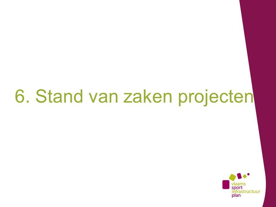 6. Stand van zaken projecten