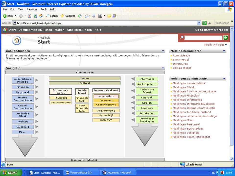 """""""Samenwerken om te verbeteren"""" – 19 oktober 2007 15"""