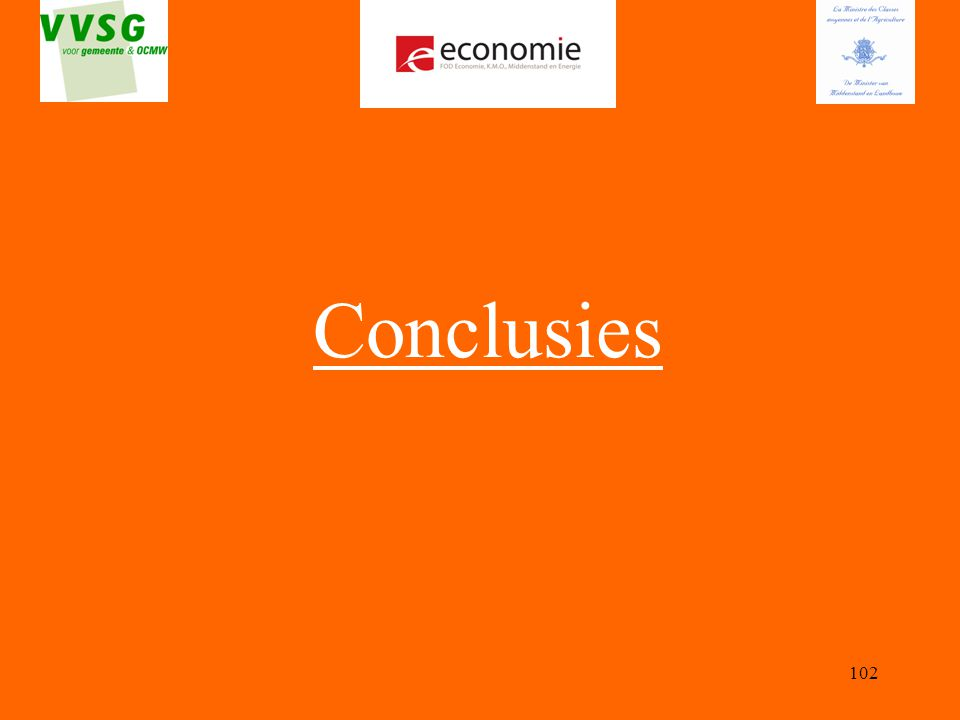 102 Conclusies
