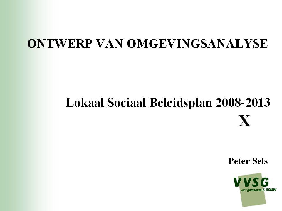 Programma 1.Schets kader en bedoeling omgevingsanalyse 2.