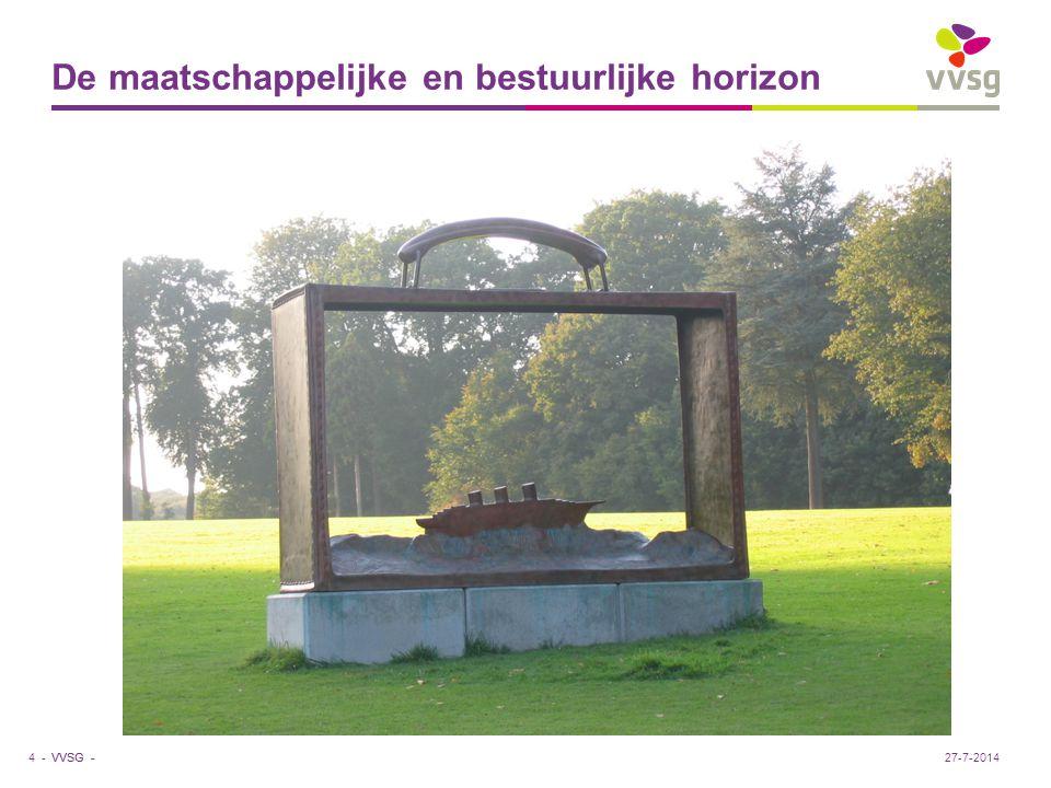 VVSG - De maatschappelijke en bestuurlijke horizon 4 -27-7-2014