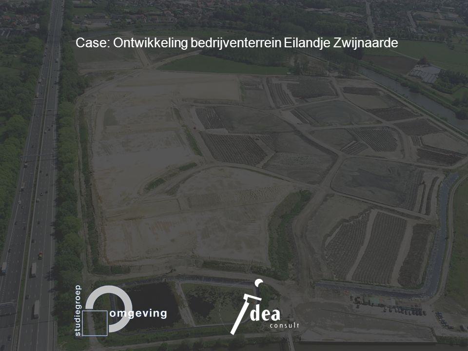 Strategische ruimtelijke projecten SYMPOSIUM Leuven, 8 maart 2010 Case: Ontwikkeling bedrijventerrein Eilandje Zwijnaarde