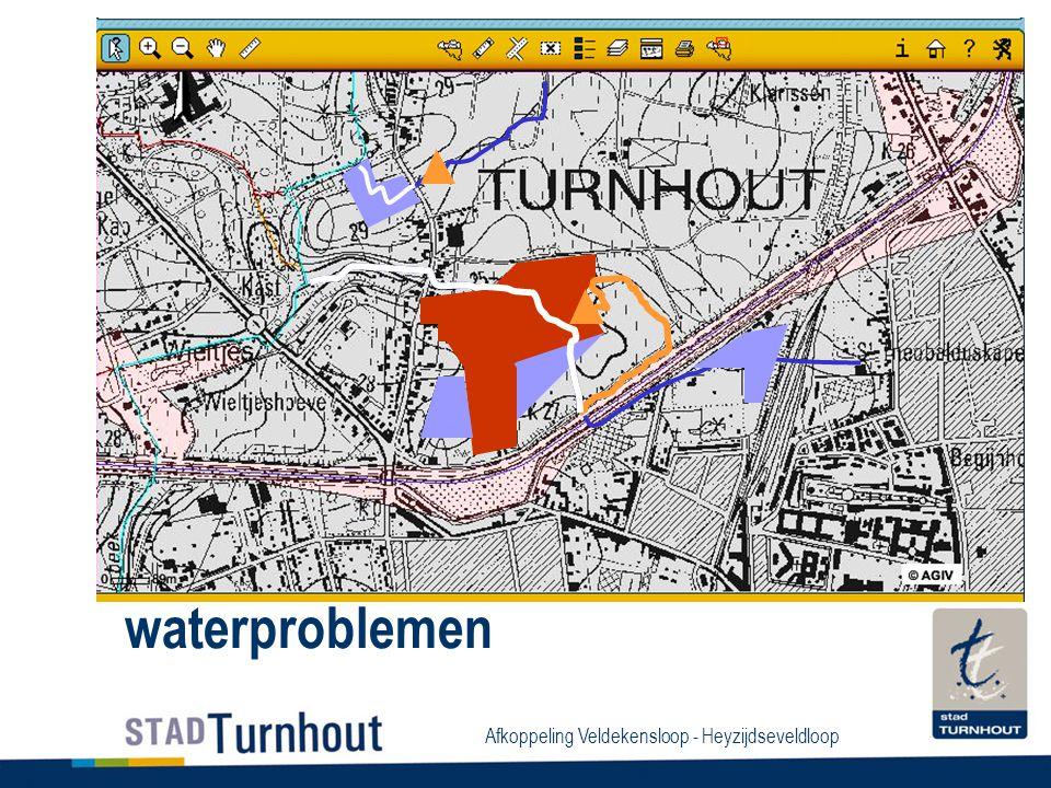 Afkoppeling Veldekensloop - Heyzijdseveldloop waterproblemen