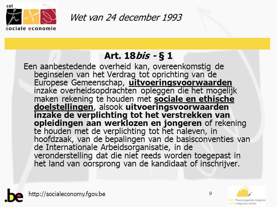 http://socialeconomy.fgov.be 9 Art.