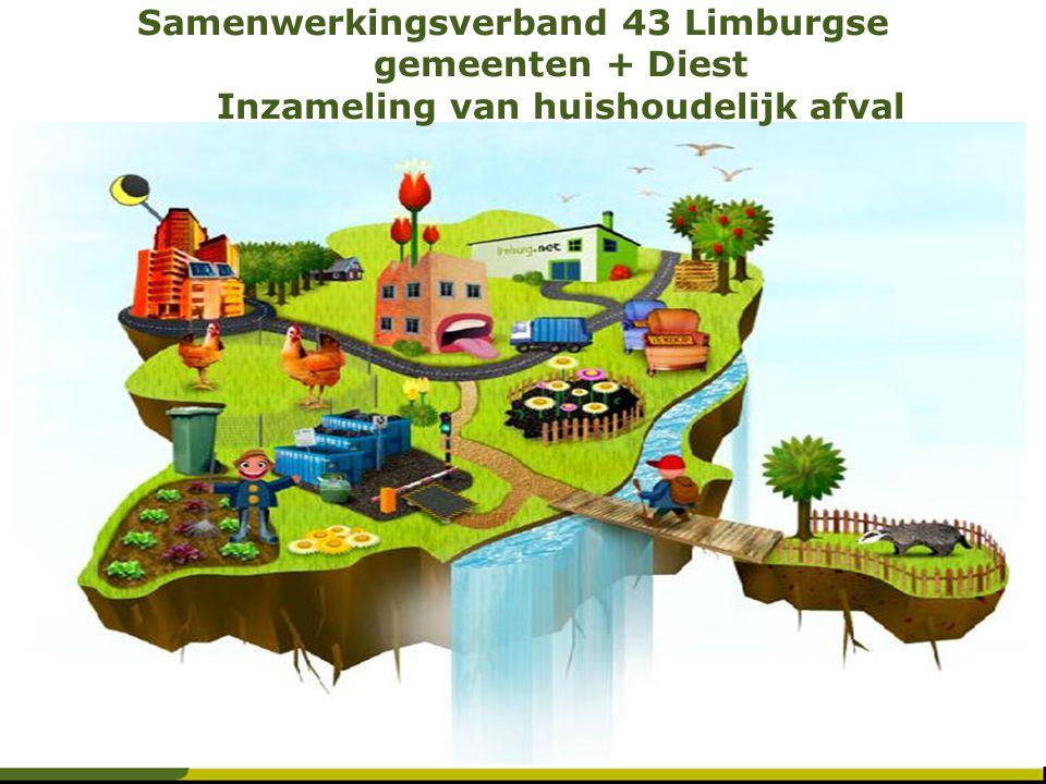 Samenwerkingsverband 43 Limburgse gemeenten + Diest Inzameling van huishoudelijk afval
