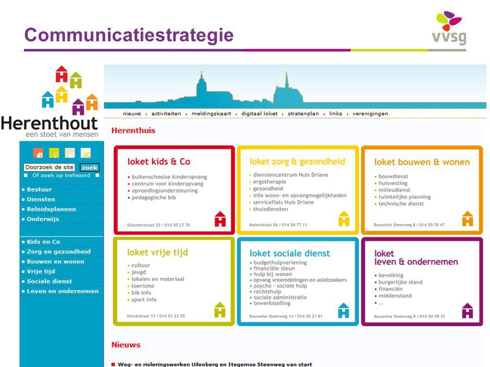VVSG - Communicatiestrategie Pas aan bij: Invoegen / Koptekst en Voettekst28 -27-7-2014