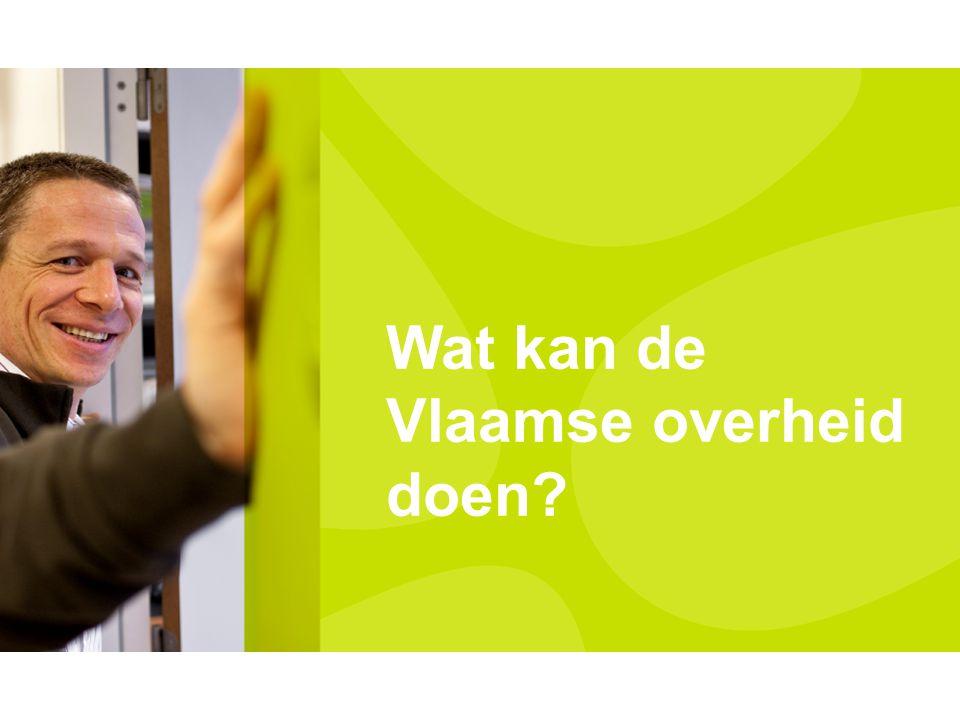 Wat kan de Vlaamse overheid doen?