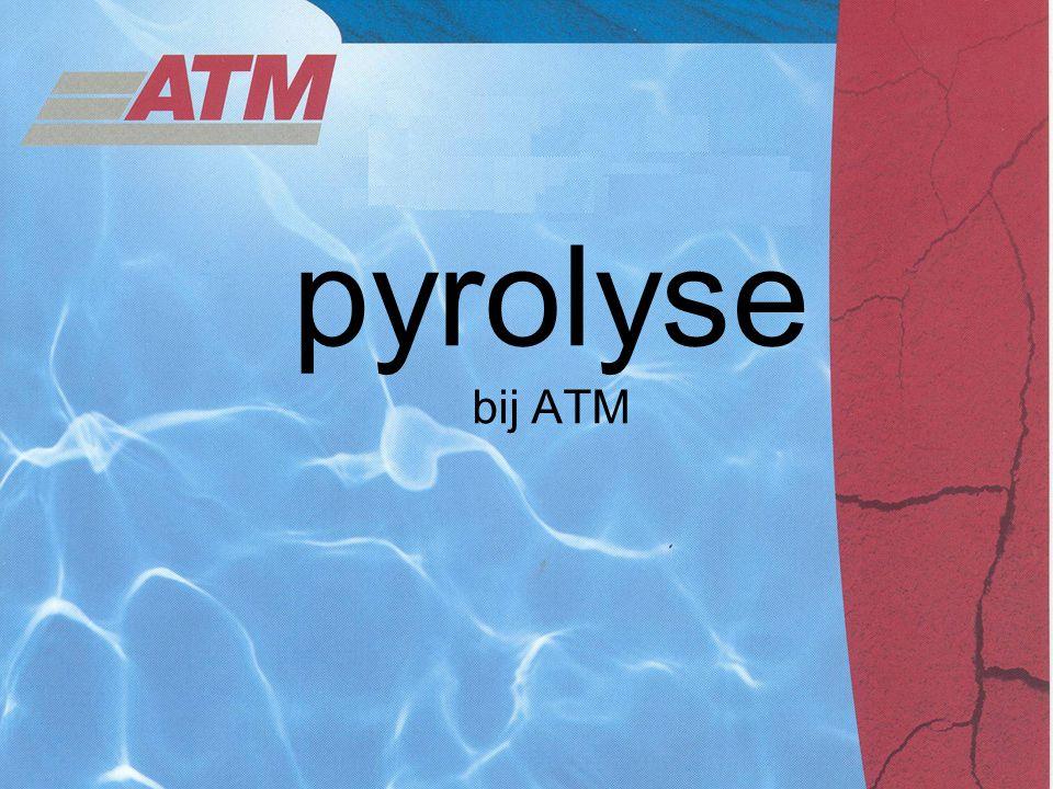 pyrolyse bij ATM